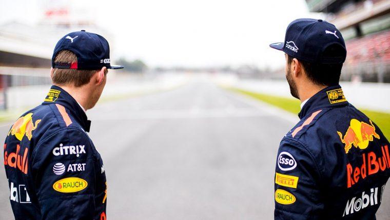 Max Verstappen & Daniel Ricciardo