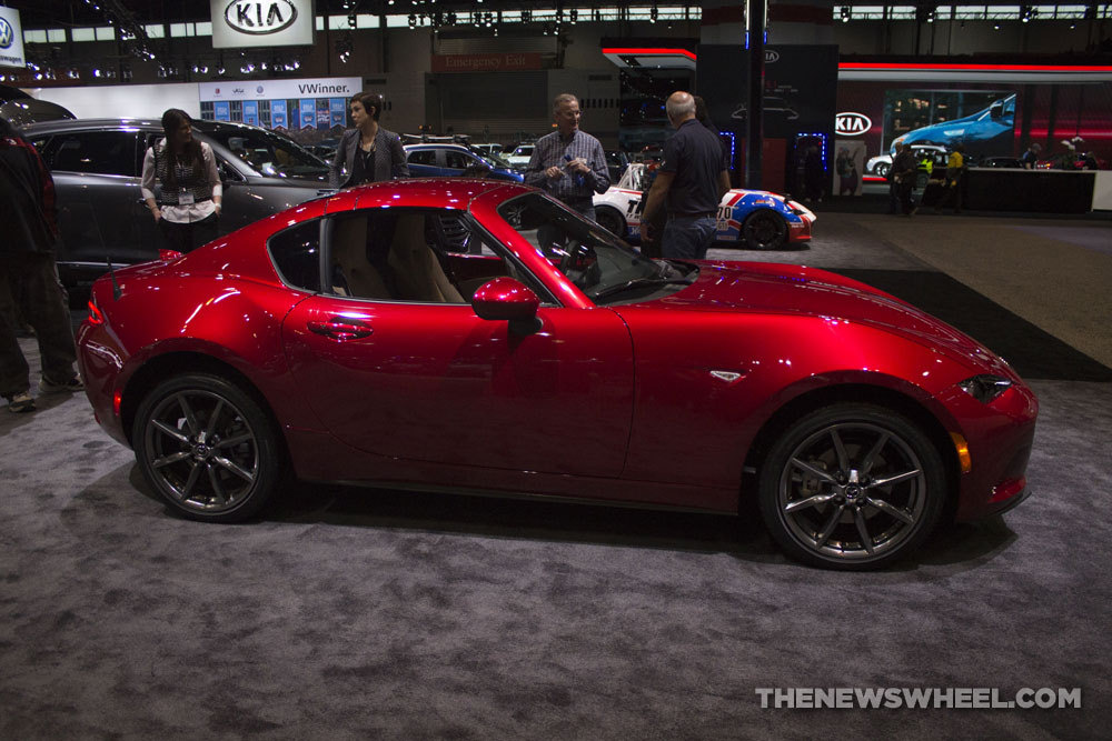 Mazda Mx 5 Rf >> Mazda MX-5 Miata RF Red | The News Wheel