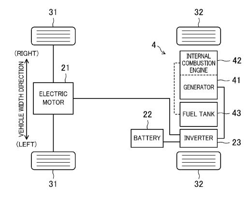 Mazda range-extended EV patent drawing
