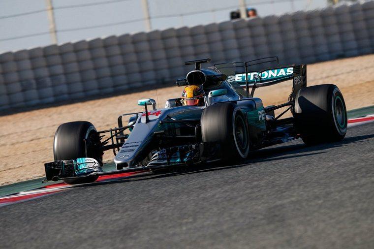 Mercedes 2017 Pre-Season Testing
