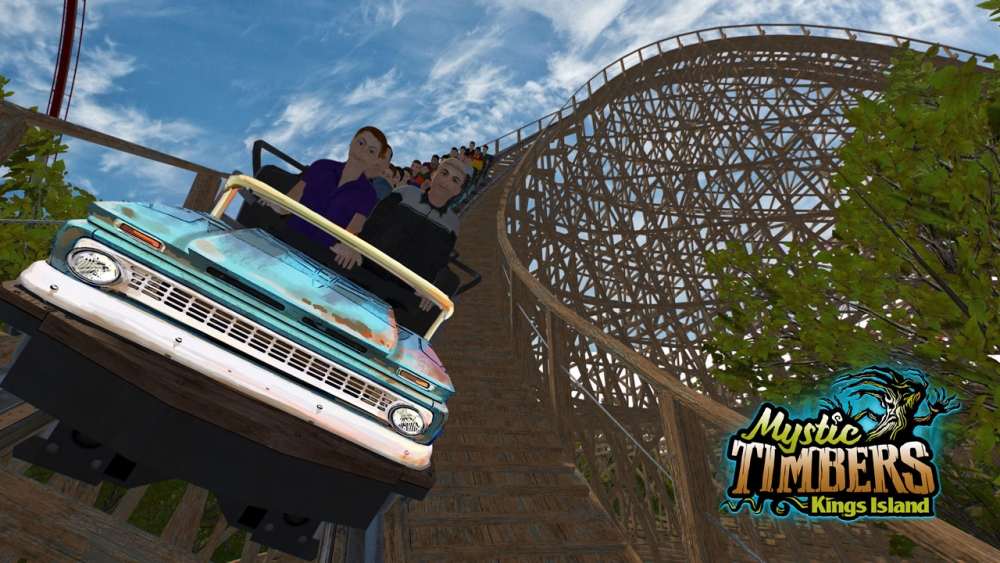New Kings Island Coaster Ride Vehicles Draw Inspiration