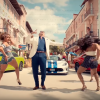 Pitbull with Dodge Vehicles in Hey Ma Music Video