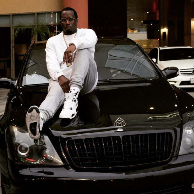 Sean Combs Diddy Maybach 57 Black