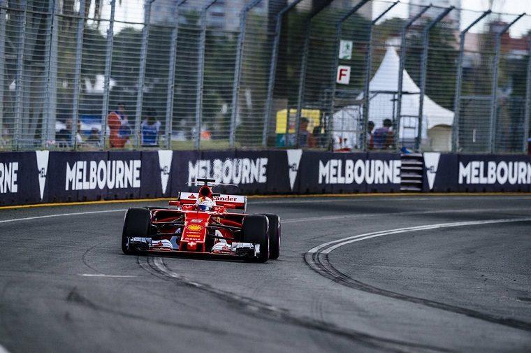 Sebastian Vettel Qualifying @ 2017 Australian Grand Prix