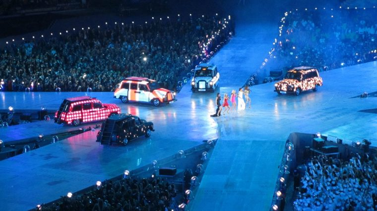 Spice Girls 2016 London Olympics Custom Taxi Cabs