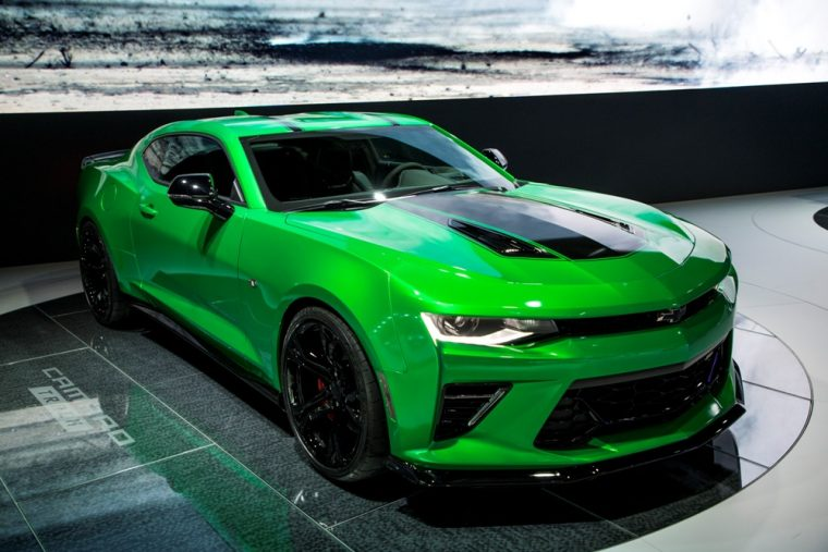 The Chevrolet Camaro Track Concept made its debut at the 2017 Geneva International Motor Show