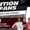 The New Wheel Giveaway INDYCAR Unplugged board game motor car racing win free banner