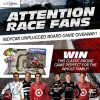 The New Wheel Giveaway INDYCAR Unplugged board game motor car racing win free post
