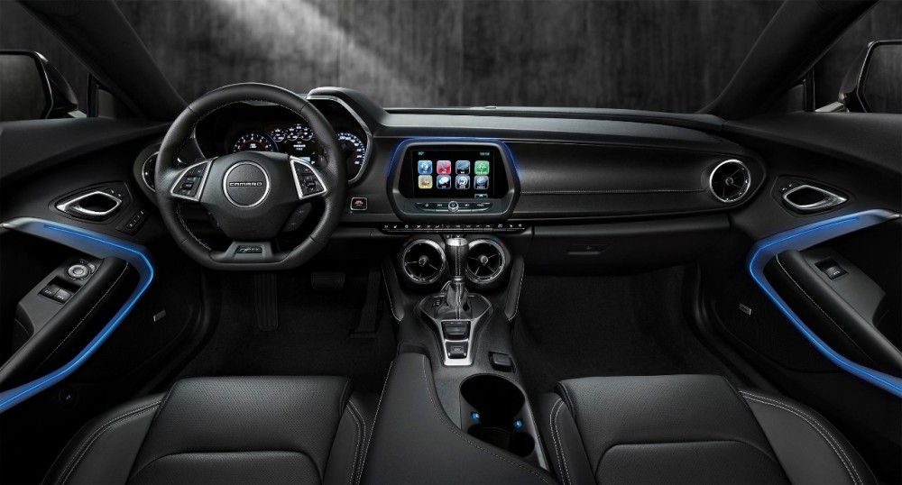 Sixth Generation Camaro Rs Interior The News Wheel