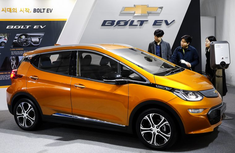 Chevrolet Bolt Korea