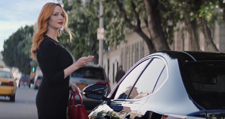 2017 Kia Cadenza Christina Hendricks Commercial