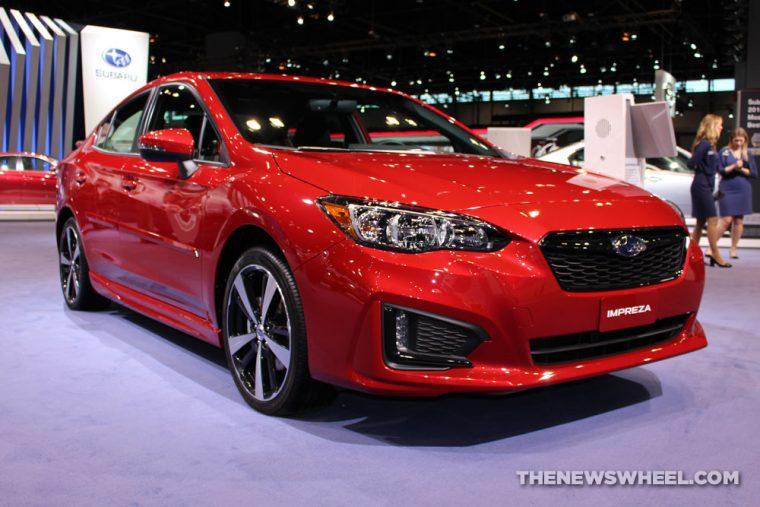 2017 Subaru Impreza Red
