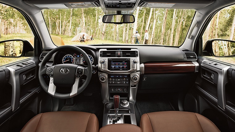 2017 Toyota 4Runner interior