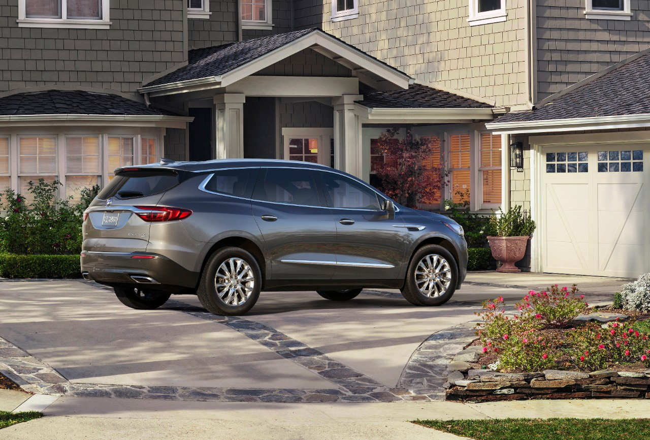 test front buick suvs motor enclave cars first trend view