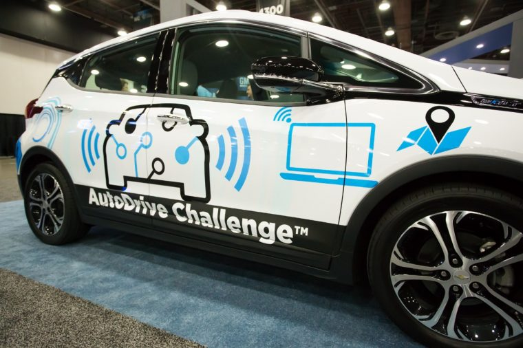 AutoDrive Challenge teams will use a Chevy Bolt EV as their platform vehicle