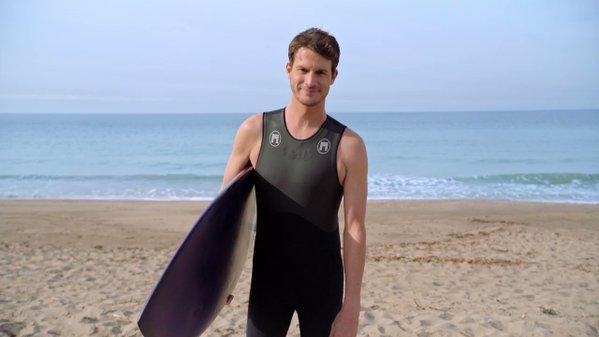 Daniel Tosh Subaru Surfing Commercial
