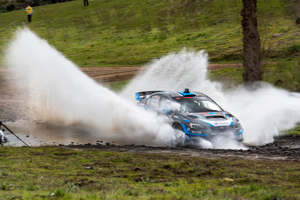 David_Higgins_blasts_through_a_water_splash_at_the_Oregon ...