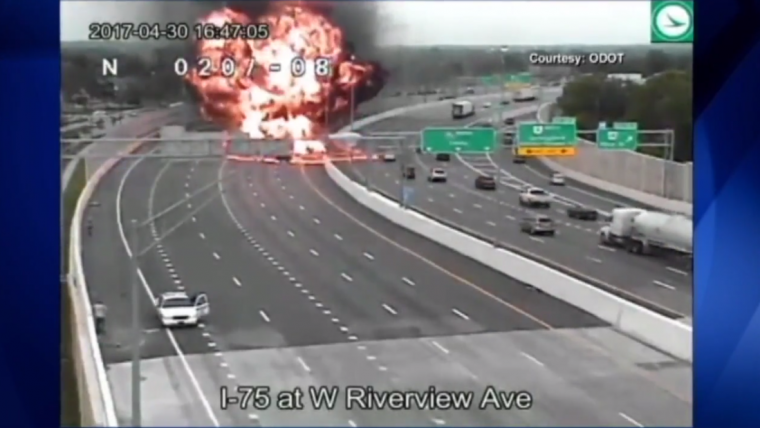 Explosion in Dayton