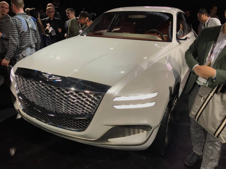 New York Auto Show News Genesis Enters SUV Territory With New GV - Car show news