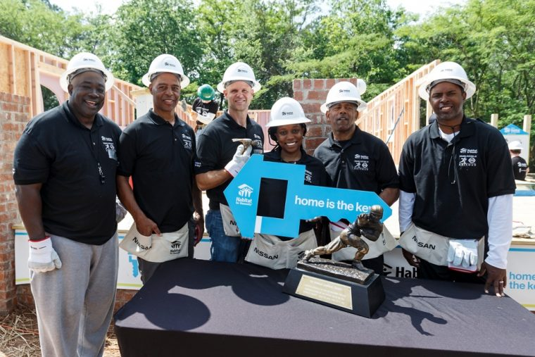 Supported by Legends - Heisman House Nissan Habitat for Humanity