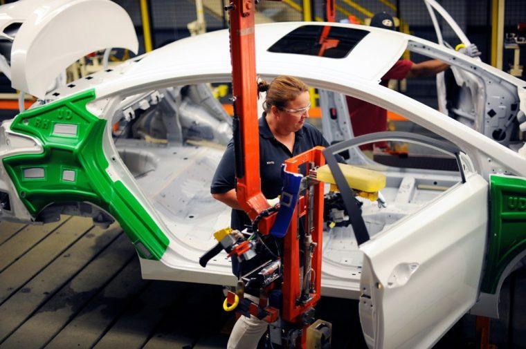 Hyundai Motor Manufacturing Alabama Plant Facility Production Worker Korean