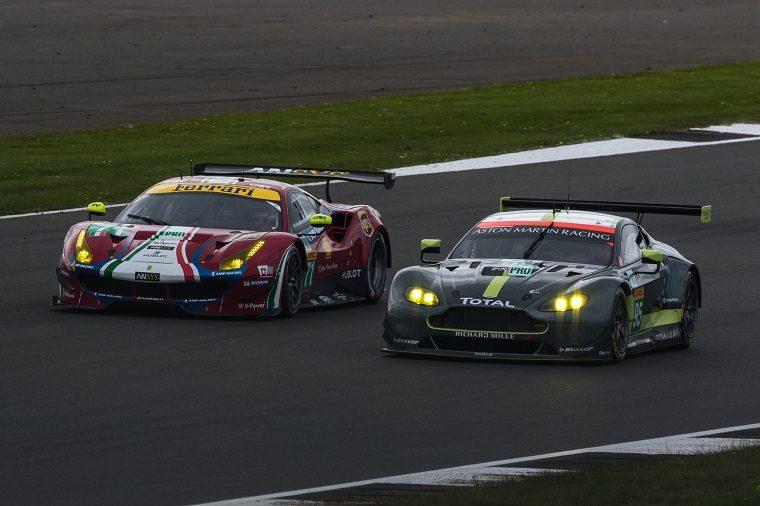 Ferrari 488 GTE & Aston Martin GTE