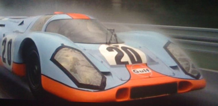 Le Mans movie review Steve McQueen film retrospective revisit 1971 race cars Porsche