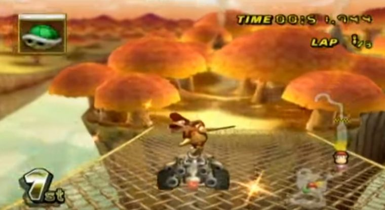 Mario Kart Wii - Maple Treeway
