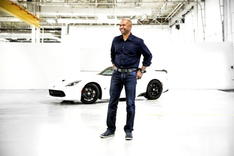 Ralph Gilles Head of design dodge Chrysler FCA corporate executive