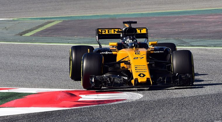 Renault RS17 at Barcelona