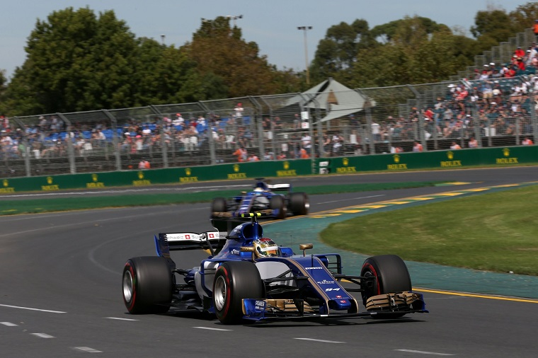 Sauber F1 Team at the 2017 Australian GP