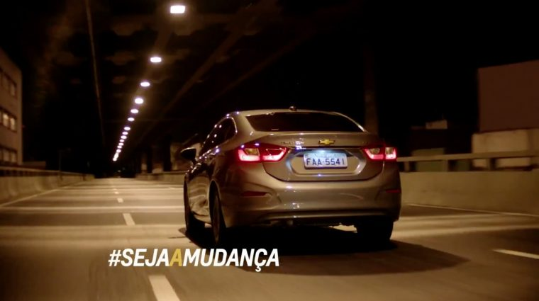 #SejaAMudanca Spanish-language Chevy Cruze ad campaign