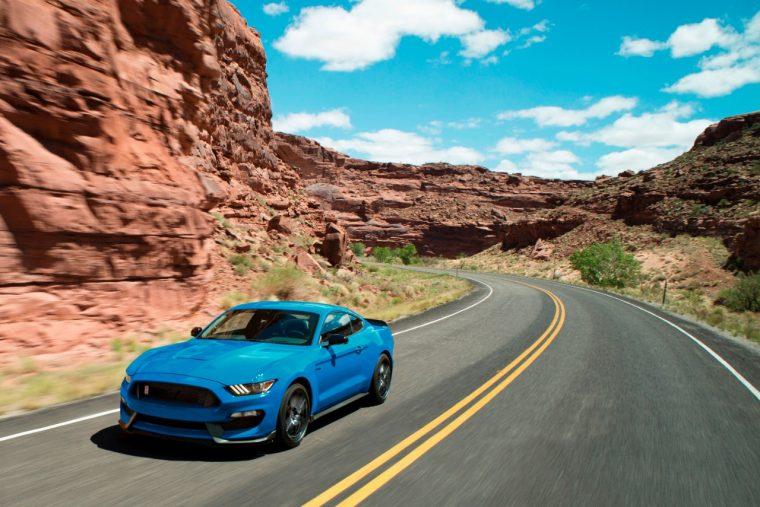 2018 Shelby GT350 Mustang Kona Blue