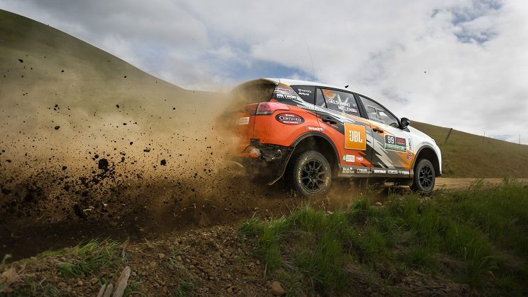 Toyota RAV4 at 2017 Oregon Trail Rally