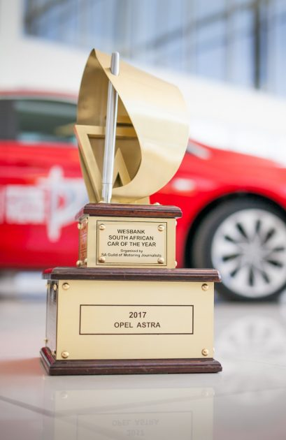 Opel Astra Wesbank South African Guild of Motoring Journalists' 2017 Car of the Year