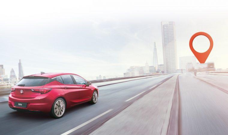 Vauxhall RoadTrip app