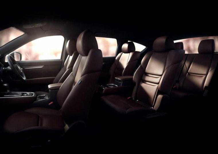 Mazda CX-8 interior teaser