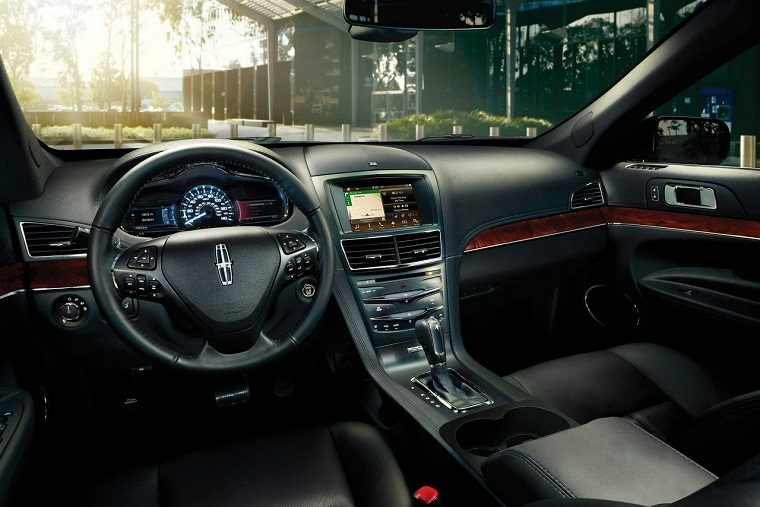 2017 Lincoln MKT interior