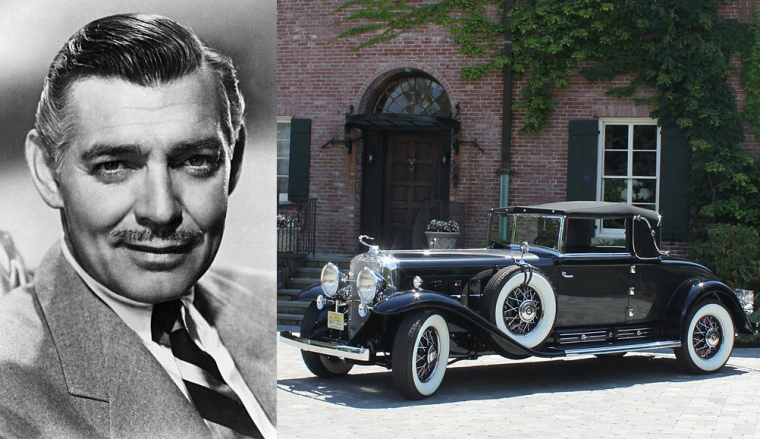Clark-Gable-Cadillac-16V-Fleetwood-452A-Convertible