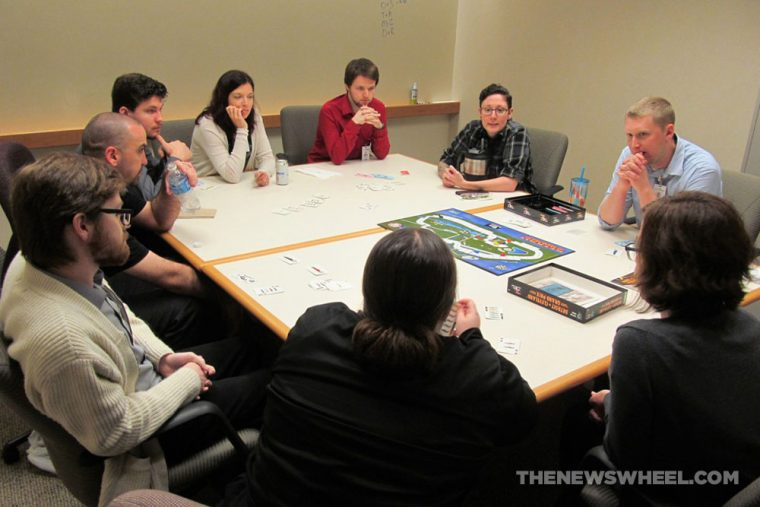 Cleveland Detroit Grand Prix Racing Board Game Review Mayfair Games car motorsports group