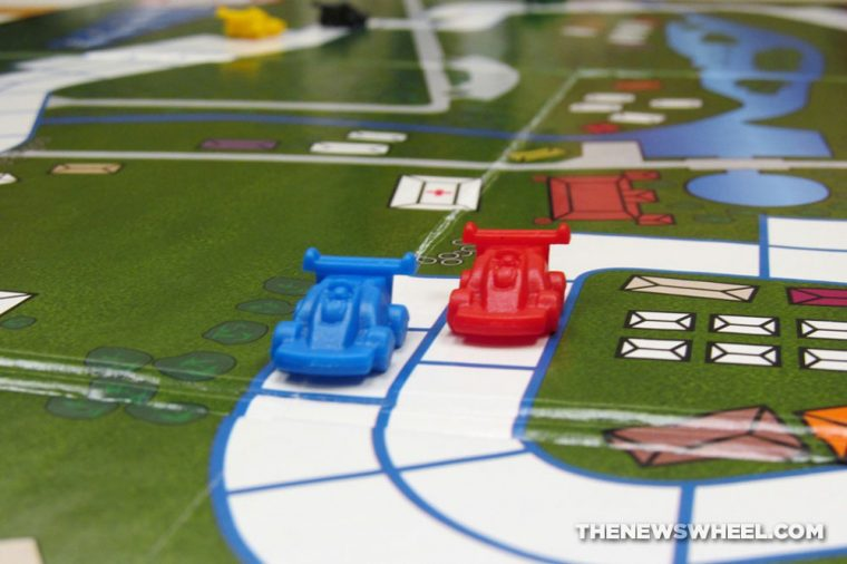Cleveland Detroit Grand Prix Racing Board Game Review Mayfair Games car motorsports play