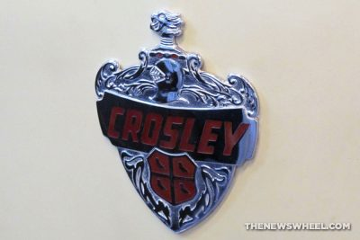 Crosley Motor Corporation Cincinnati Ohio History badge information
