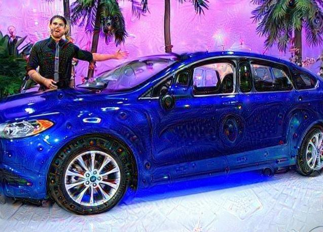 Deep Dream Ford Fusion SE Price is Right