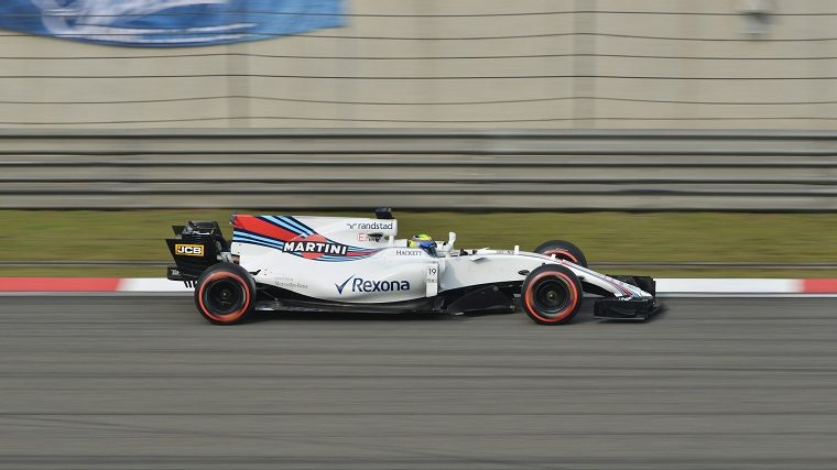 Felipe Massa in the Williams FW40