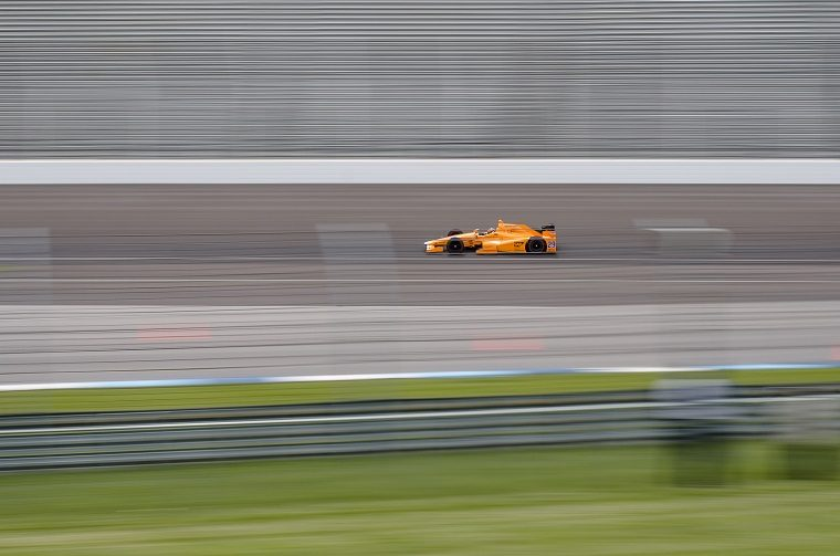 Fernando Alonso Indy Test