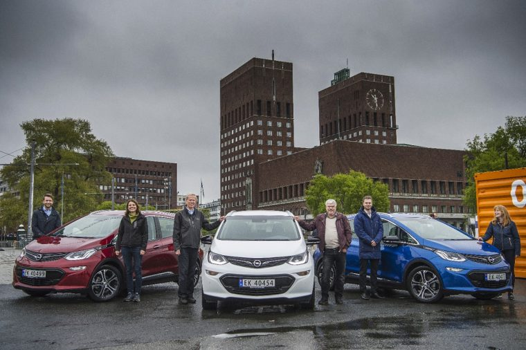 First Opel Ampera-e deliveries in Norway