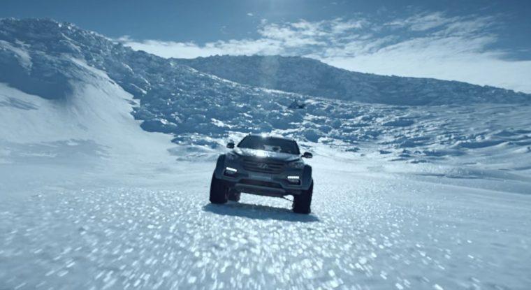 Hyundai Santa Fe Antarctica Patrick Bergel Shakleton journey snow driving