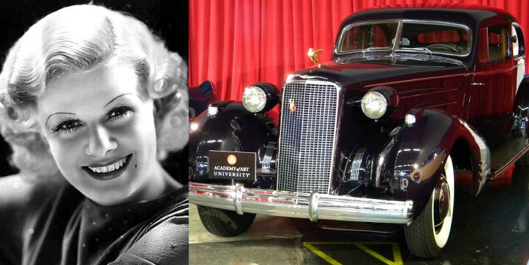 Jean-Harlow-1934-Cadillac-V16-black