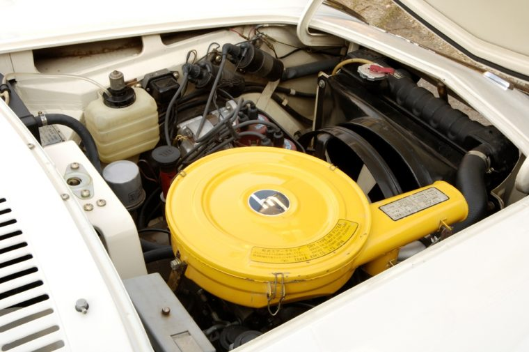 1967 Mazda Cosmo rotary engine