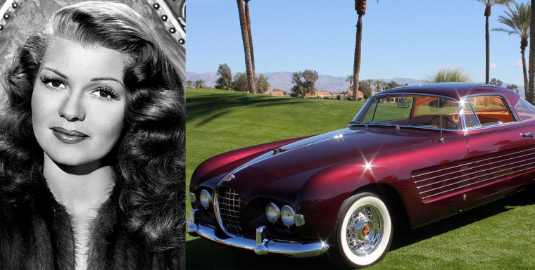 Rita-Hayworth-1953-Cadillac-Ghia-Series-62